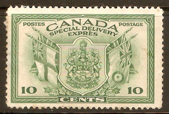 Canada 1942 10c Special Delivery stamp. SGS12.
