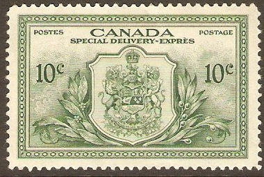 Canada 1946 10c Special Delivery Stamp. SGS15.