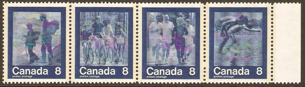 Canada 1974 Olympic Games Set. SG768a.