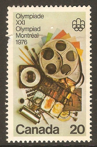 Canada 1976 20c Olympic Games series. SG833.