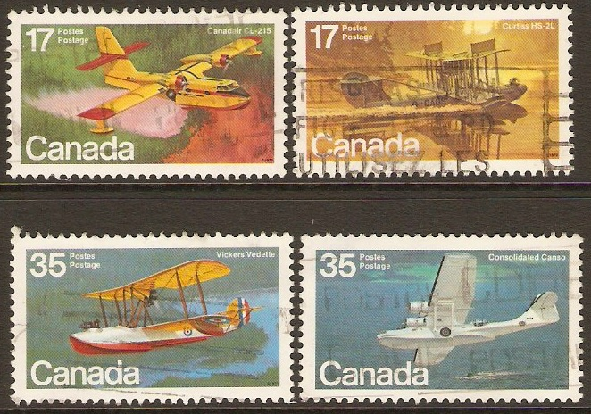 Canada 1979 Aircraft 1st. Series Set. SG966-SG969.