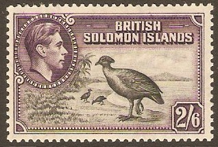 British Solomon Isles 1937-1952