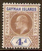 Cayman Islands 1901-1910