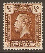 Cayman Islands 1911-1936