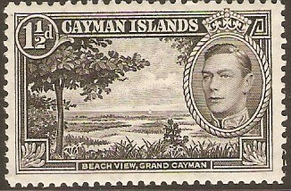 Cayman Islands 1937-1952