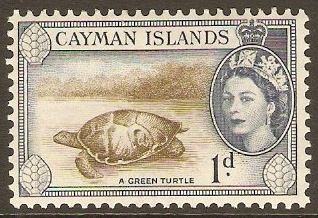 Cayman Islands 1953-1970