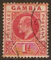 Gambia 1901-1910