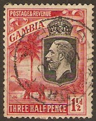 Gambia 1911-1936