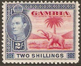 Gambia 1937-1952