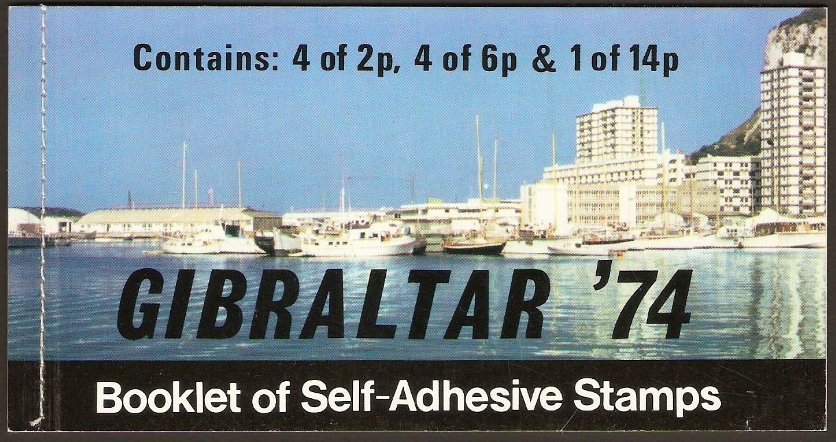 Gibraltar Stamp Booklets