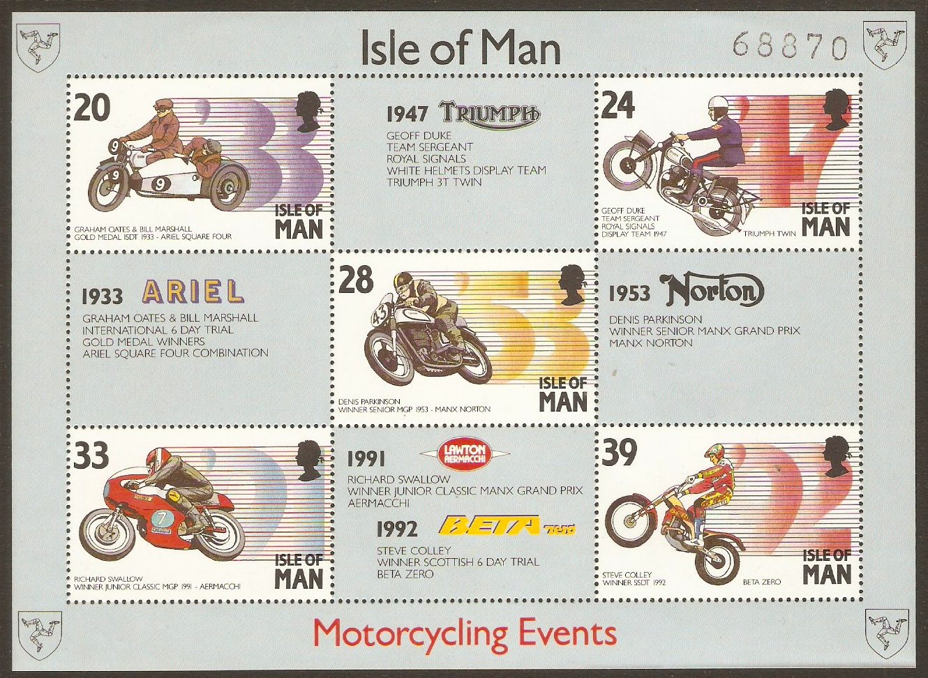 Isle of Man 1991-2000