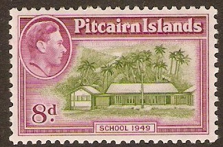 Pitcairn Islands 1940-1952