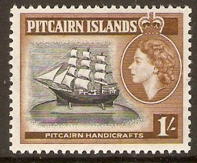 Pitcairn Islands 1953-1960