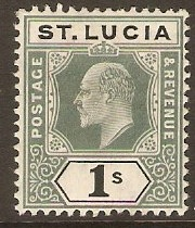 St. Lucia 1901-1910