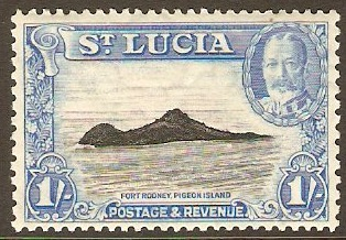 St. Lucia 1911-1936