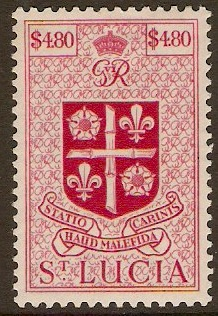 St. Lucia 1937-1952