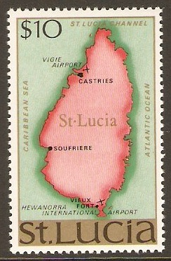 St. Lucia 1967-1970