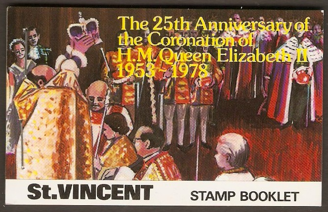 St. Vincent Stamp Booklets