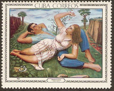 Cuba 1967 Painting after J. Arche. SG1456.