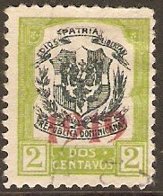 Dominican Republic 1919 ½c Black and olive. SG224.