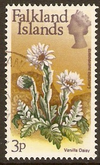 Falkland Islands 1972 3p Flowers Decimal Currency Series. SG281.