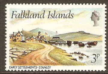 Falkland Islands 1981 3p Early Settlement Series. SG388.