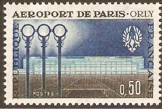 France 1961 Airport Facilities Opening. SG1514.