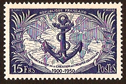 France 1951 Military Anniversary. SG1111.