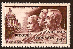 France 1951 Military Health Stamp. SG1120.