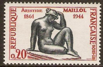 France 1961 Maillol Commemoration. SG1512.