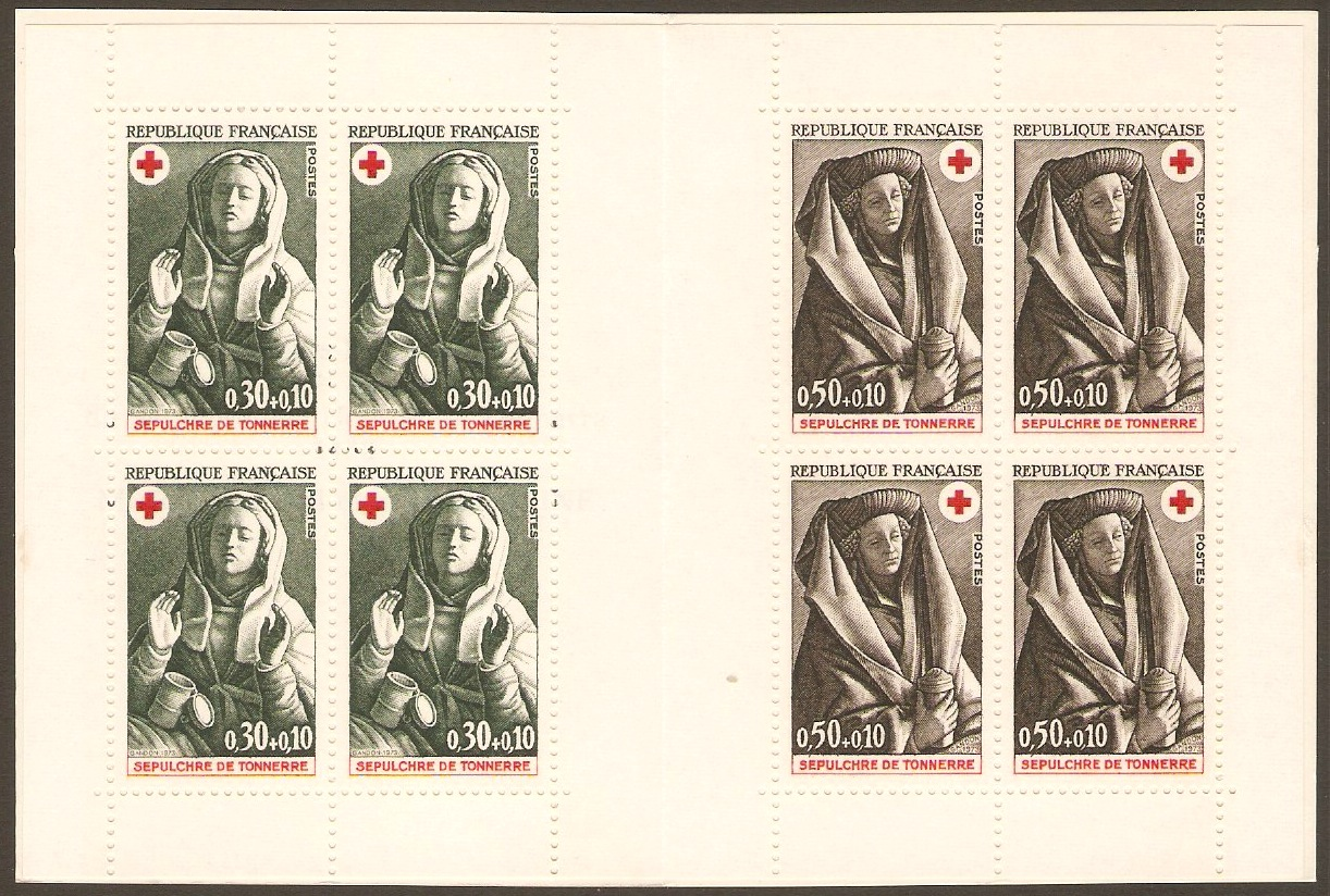 France 1973 Red Cross Stamp Booklet. SGXSB23.