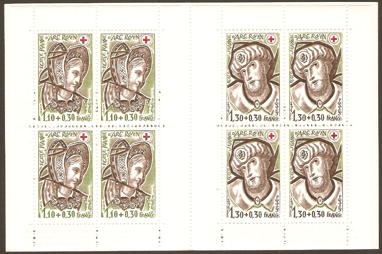 France 1979 Red Cross Stamp Booklet. SGXSB29.