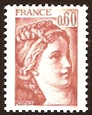 France 1981 60c Venetian red. SG2217a.
