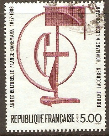 France 1988 5f.00 Franco-Danish Cultural Year. SG2848.