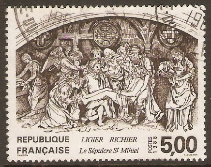 France 1988 5f.00 St. Mihiel's Sepulchre. SG2850.