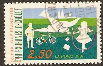 France 1991 2f.50 Stamp Exhibition. SG3021.