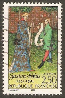 France 1991 2f.50 Gaston Febus Commemoration. SG3035.