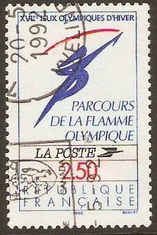 France 1991 2f.50 Olympic Games Stamp. SG3048.