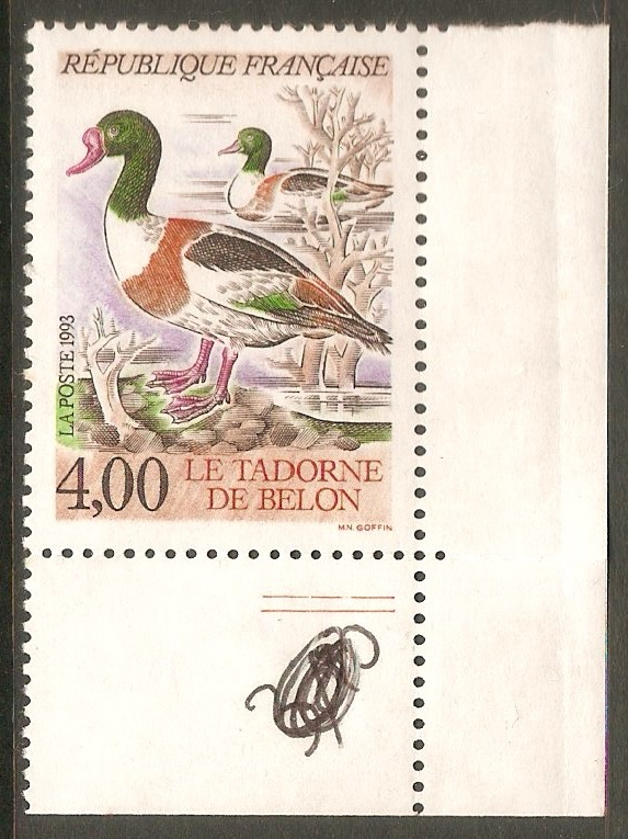 France 1993 4f Ducks series. SG3110.