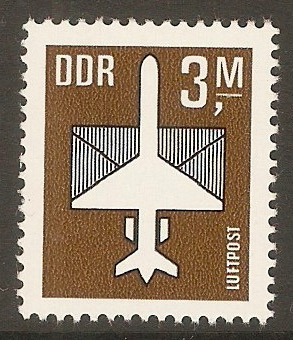 East Germany 1982 3m Black & deep yellow-brown. SGE2466.