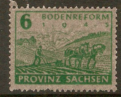 Germany 1945 6pf Green. SGRC24.