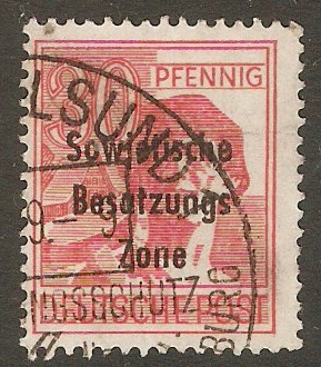 Germany 1948 30pf Red. SGR11.