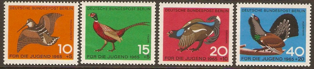 West Berlin 1965 Child Welfare Stamp Set. SG B261-B264.