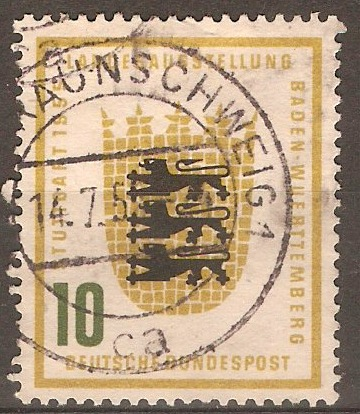 Germany 1955 10pf Agricultural Exhibition series. SG1139.