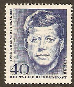 West Berlin 1964 Kennedy Commemoration. SGB235.