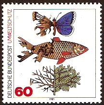 Germany 1981 Environment Stamp. SG1951.