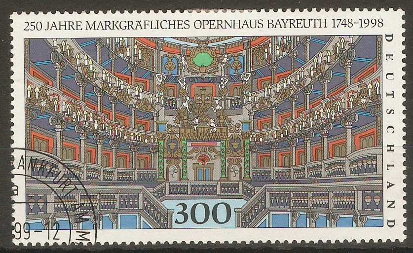Germany 1998 Bayreuth Opera House Anniversary. SG2845.