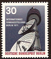 West Berlin 1971 Broadcasting Exhibition. SGB392.