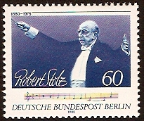 West Berlin 1980 Robert Stolz Commemoration. SGB599.