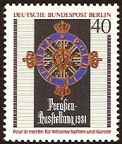 West Berlin 1981 Prussian Exhibition Stamp. SGB620.